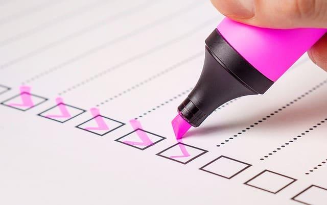 Checkliste Steuererklärung